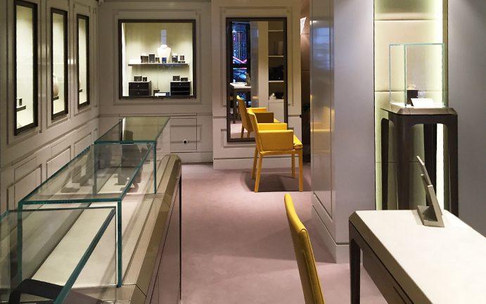 Boutique joaillerie Paris