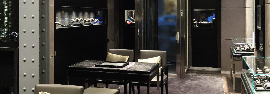 Boutique Hublot rue St-Honoré Paris
